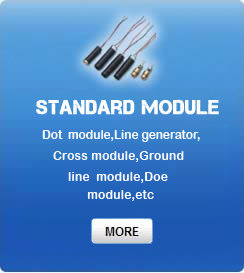 Dot module,Line generator,Cross module,Ground line module,Doe module,etc